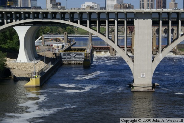 Lower Saint Anthony Falls Lock & Dam