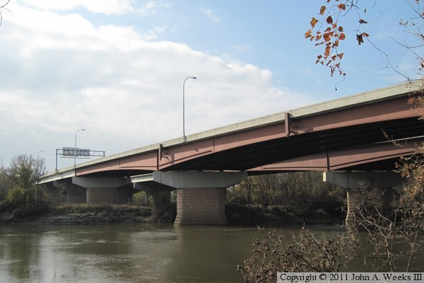 Bloomington Ferry Bridge