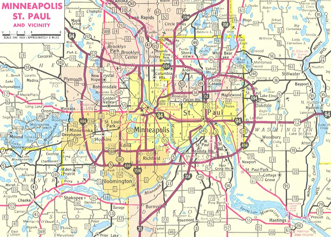 Similiar Map Of Minneapolis Suburbs Keywords