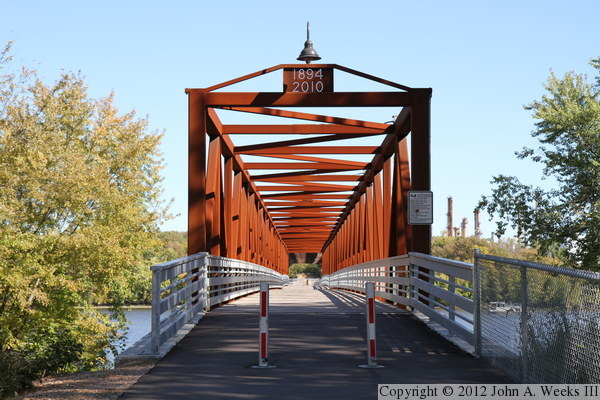 Rock Island Swing Bridge Recreational Pier