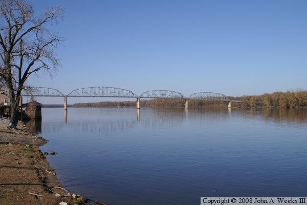 Champ Clark Bridge Louisiana Mo