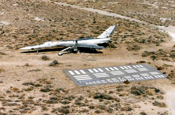 TB58 US Air Force Flight Test Museum Rosamond CA