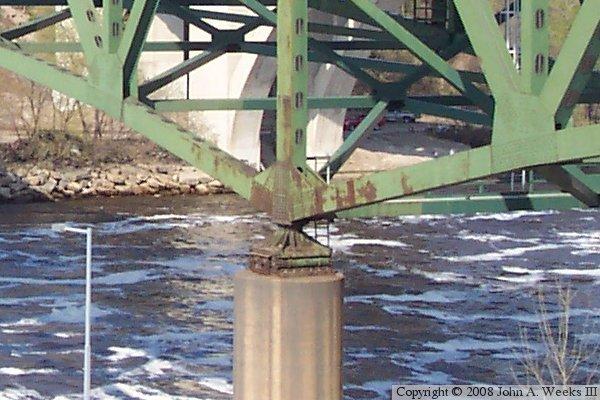 I35W Bridge Old Minneapolis MN