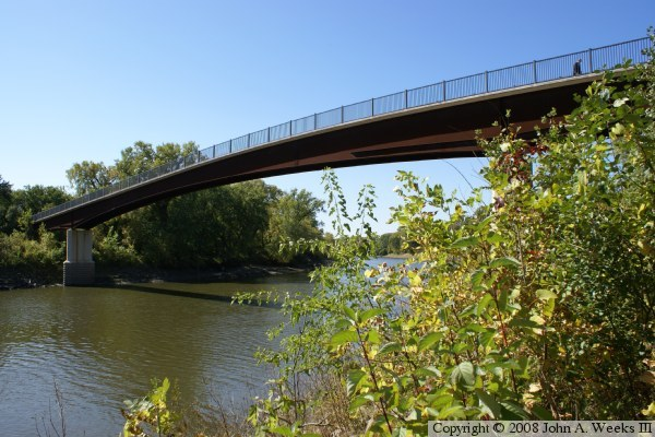 Bloomington Ferry Trail Bridge