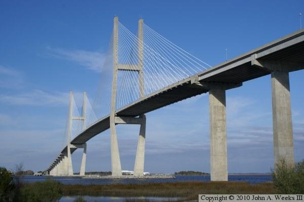 Us 17 Sidney Lanier Bridge Brunswick Georgia