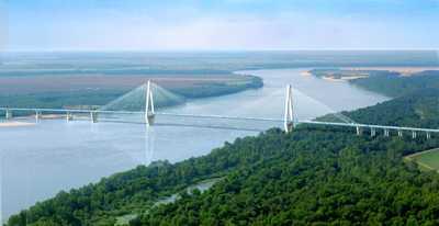 Interstate 69 Arkansas Map.Future I 69 Charles W Dean Bridge Arkansas City Ar