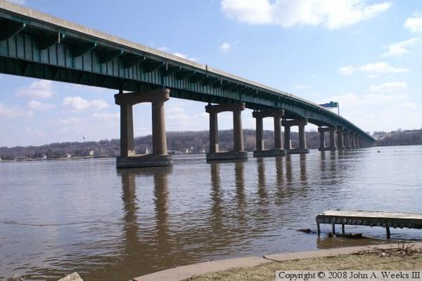 I-80 Fred Schwengel Memorial Bridge, Davenport, IA