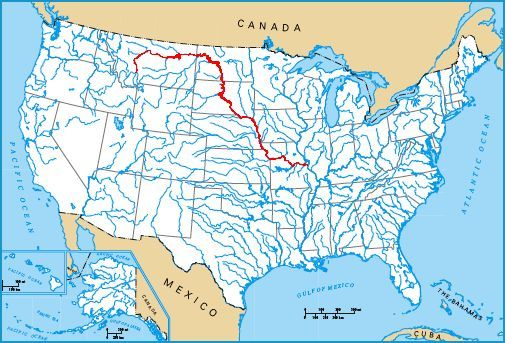 Osage River Wikipedia Black River ArkansasMissouri Wikipedia - Missouri on a map of the usa