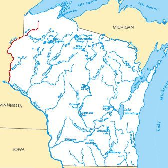 The Bridges And Structures Of The Saint Croix River - Where is wisconsin
