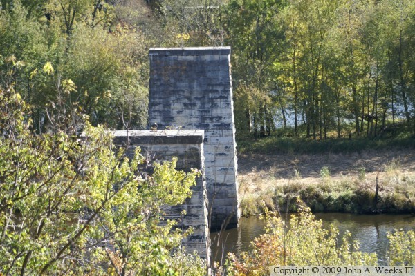 Wisconsin Central Railroad Bridge Ruins