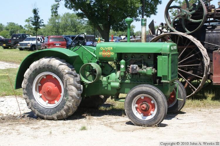oliver streamline tractors 19371948 � oliver 80