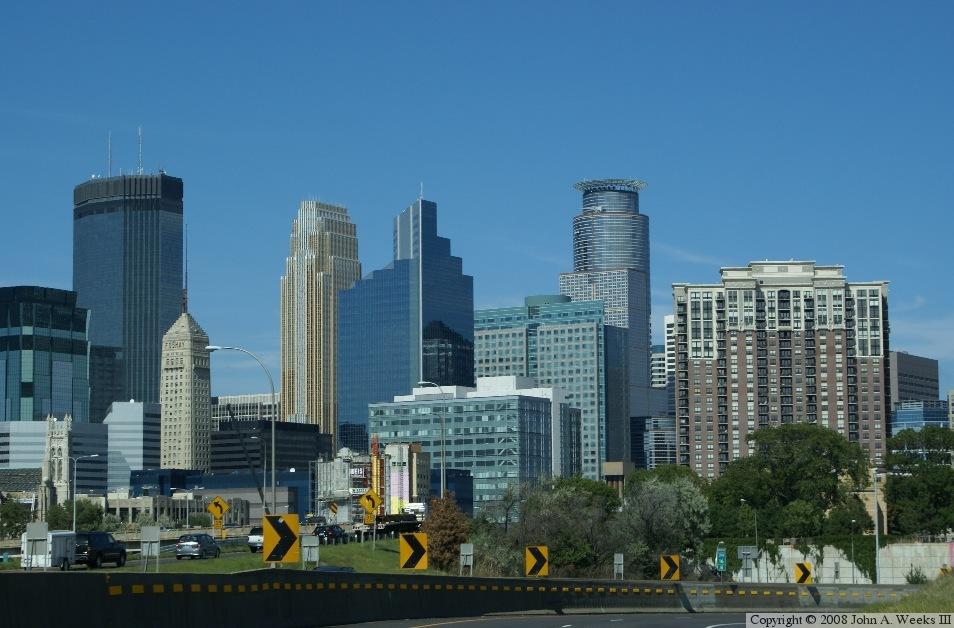 Minneapolis Skyline Photo Tour
